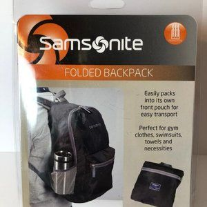 Samsonite Folded Backpack Lightweight Prep Bag